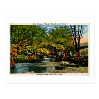 Rustic Beauty is Sublime Greetings Boyne City, MI Post Cards