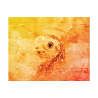 Rustic Bird Canvas Print