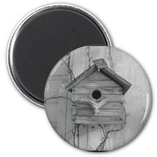 Rustic Birdhouse Magnet