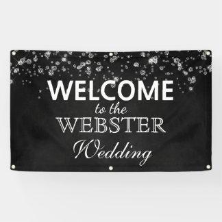 Rustic Black Chalkboard Diamonds Elegant Wedding