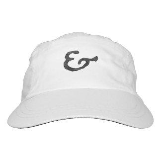 Rustic Black Letterpress Ampersand Hat
