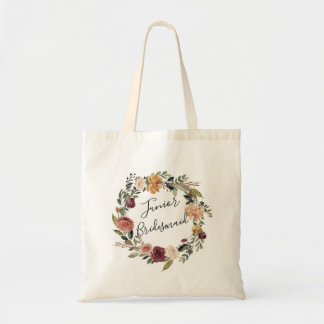 Rustic Bloom | Junior Bridesmaid Tote Bag