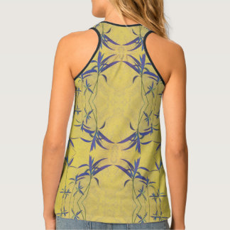 Rustic Blue and Yellow Singlet