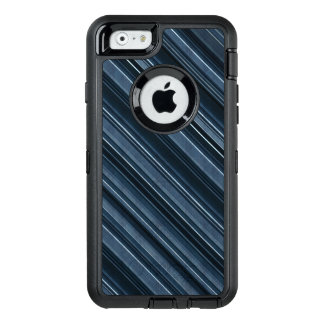 Rustic Blue, Attractive Men's Stripes Pattern OtterBox iPhone 6/6s Case