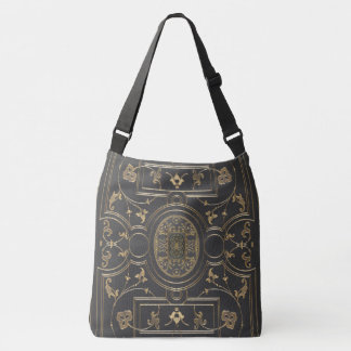 Rustic Book Cover Bags Gilded Botanical