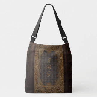 Rustic Book Cover Bags Leather And Lace