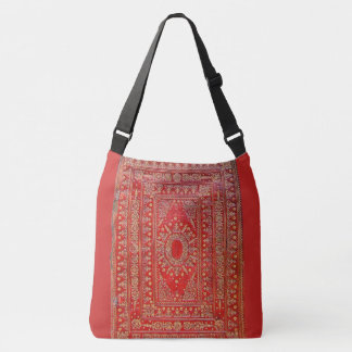 Rustic Book Cover Bags Old Gilded Red Leather