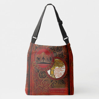 Rustic Book Cover Bags The Cheshire Cat