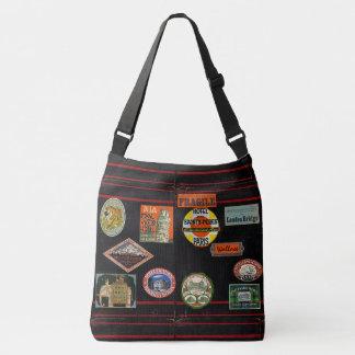 Rustic Book Cover Bags Travel Journal Monogram