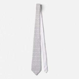 Rustic Branch Pattern Tie