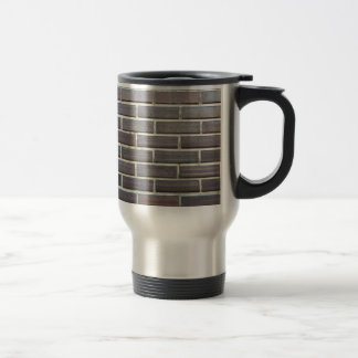 Rustic bricks coffee mug