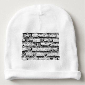 Rustic brickwall baby beanie