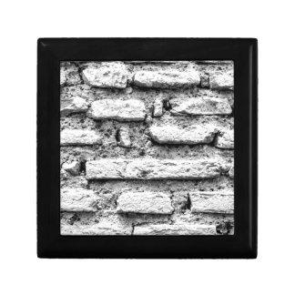 Rustic brickwall gift box