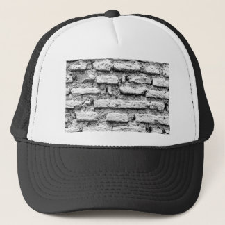 Rustic brickwall trucker hat