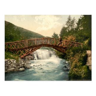 Rustic Bridge in Glenariff Co Antrim Ireland Postcards