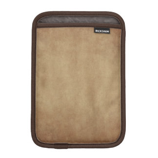 Rustic Brown Abstract Art iPad Mini Sleeve