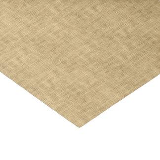 Rustic Brown Burlap Tissue Paper