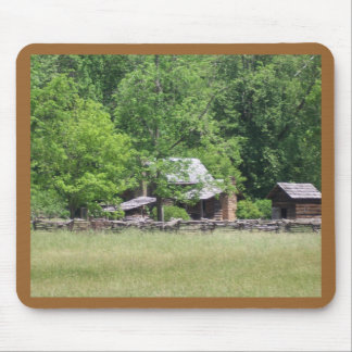Rustic Buildings Mouse Pad