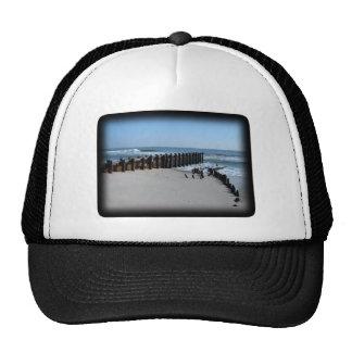 Rustic Bulkhead on Beach Hat