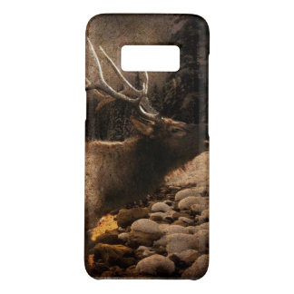 Rustic cabin cottage forest mountain elk Case-Mate samsung galaxy s8 case