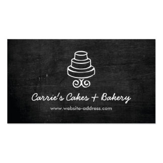 RUSTIC CAKE LOGO Business Card