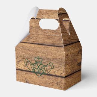 Rustic Celtic Claddagh Favour Box