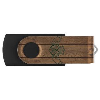 Rustic Celtic Claddagh USB Flash Drive