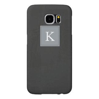 Rustic Chalkboard Flourish Design Samsung Galaxy S6 Cases