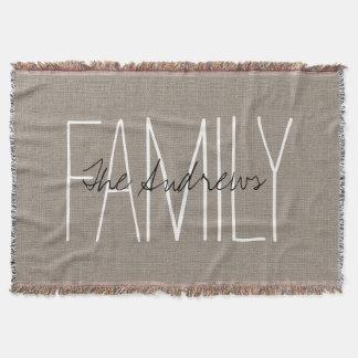 Rustic Chic Family Monogram