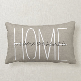 Rustic Chic Home Throw Pillow