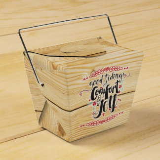 Rustic Christmas Comfort & Joy Favour Box
