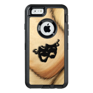 Rustic Comedy and Tragedy Theater Masks OtterBox iPhone 6/6s Case