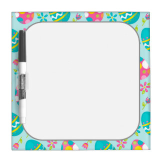 Rustic Country Easter Bunny Holiday Spring Dry Erase Board