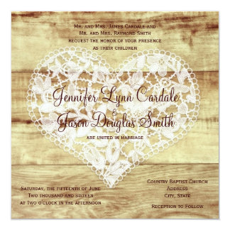 Country Style Weding Invitations 03 - Country Style Weding Invitations