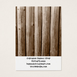 Rustic Country Log Cabin Distressed Vintage Wood