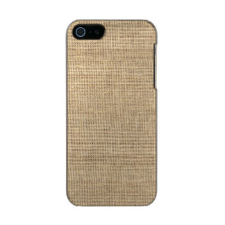 Rustic Country Vintage Burlap Incipio Feather® Shine iPhone 5 Case
