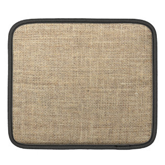Rustic Country Vintage Burlap iPad Sleeve