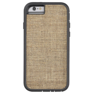 Rustic Country Vintage Burlap Tough Xtreme iPhone 6 Case