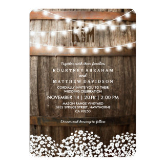 Winery Wedding Invitations & Announcements | Zazzle.com.au