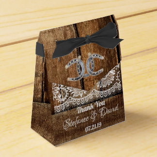 Rustic Country Wedding Tent Favor Box
