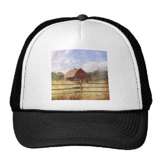 Rustic Country Western Barn Cap
