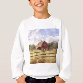 Rustic Country Western Barn Sweatshirt