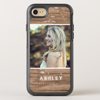 Rustic Country Wood Grain Style Picture OtterBox Symmetry iPhone 7 Case