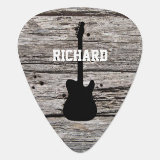Rustic Country Wood Plectrum