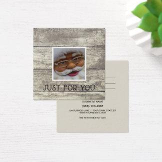 Rustic Cute Santa Claus Gift Card Certificate