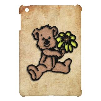 Rustic Daisy Bear Design Case For The iPad Mini