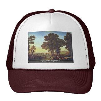 Rustic Dance By Lorrain Claude Trucker Hat