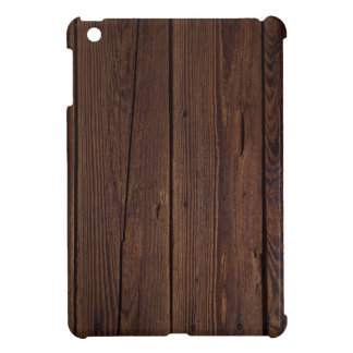 Rustic Dark Brown Wood Wooden Fence Country Style Case For The iPad Mini