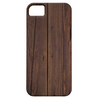 Rustic Dark Brown Wood Wooden Fence Country Style Case For The iPhone 5