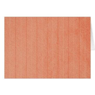 Rustic Dark Salmon Card